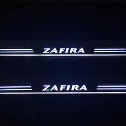 zafira cars UK - For Opel Zafira 2015 2016 2017 2018 Acrylic Moving LED Welcome Pedal Car Scuff Plate Pedal Door Sill Pathway Light