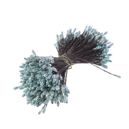 China CINEE 288PCS lot 3mm Bright Powder Flower Stamen Pistil Twist Picked Wedding Decoration CCINEE 288PCS lot 3mm Bright Powder Flower Stam... supplier flowers stamens wholesale suppliers