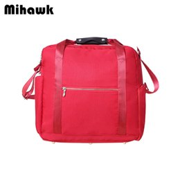 d8fd12c181 Mihawk Waterproof Oxford Luggage Bags Women Men Large Capacity Travel  Duffle Clothing Bra Baggage Storage Pouch Accessories Gear