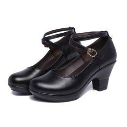 $enCountryForm.capitalKeyWord Australia - Platform Pumps New 2019 Fashion Dance Shoes Buckle Women's Pumps With Medium Heels Silver Black Block Heels Wedding Shoes Bride