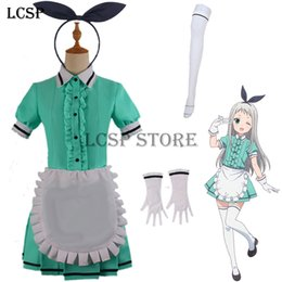 cosplay maids outfit 2019 - cosplay costume LCSP Blend S Kanzaki Hideri Coffee Maid Sakuranomiya Maika Cosplay Costume Japanese Anime Uniform Suit O
