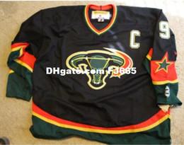 Cheap personalized hoCkey jerseys online shopping - Cheap custom Vintage Dallas Stars Hockey Jersey CCM Men s MIKE MODANO Personalized stitching jerseys XS XL