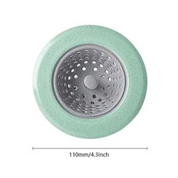 Plastic Sewer Australia - Urijk Practical Kitchen Strainer Sewer Filter Drainage Suckers Bathroom Sink Hair Tool Silicone Sewer Filter Kitchen Utensil