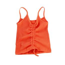 $enCountryForm.capitalKeyWord UK - Girls Summer Tank Tops 2019 New Arrival Cotton Kids Underwear Fashion Camisole For Little Girls Baby Singlets Children Tops GE13
