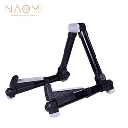 $enCountryForm.capitalKeyWord UK - NAOMI AROMA AGS-08 Electric Guitar Stand Folding Adjustable Guitar Stand Aluminum Alloy A-Frame Stand Black