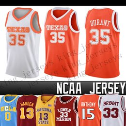 99 NCCA Jersey Ja Men LeBron Moran Durant Harden Curry Stephen college Basketball Jerseys Russell Westbrook Zion Iverson Williamson on Sale
