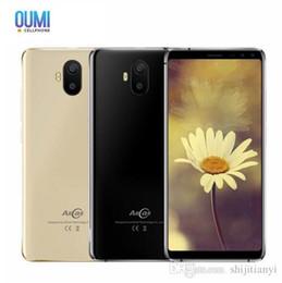 "Mobile Smartphone Digital Camera Australia - AllCall S1 5.5"" 18:9 Mobile Phone 2GB RAM 16GB ROM Android 8.1 MTK6580A Quad Core Four Camera Dual 8MP+2MP 5000mAh Smartphone"