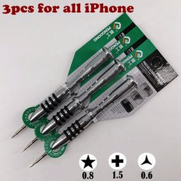 precision screwdriver set torx UK - precision screwdriver tools set Phillips1.5 5-star point 0.8 Pentalobe 1.2 TOOLS kit FOR iphone Apple Macbook Air Samsung Y200321
