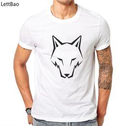 $enCountryForm.capitalKeyWord Australia - 2019 New Summer Brand Large Size Wolf Head T-shirt Man Round Collar Short Sleeve T-shirt Men Fashion Cool Camiseta Masculina