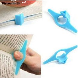 supports ring NZ - 2019 1 Piece!!! Convenient Multi-functional BookHolder Supports Bookmarks Finger Ring Markers For Stationery Glits