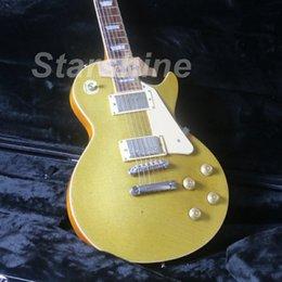 $enCountryForm.capitalKeyWord Australia - JEG6182 2018LP Gold TopElectric Guitar One Piece Body& Neck Nitrolacquer Stain Finish Alnico Pickups ABR Bridge