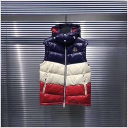 BamBoo hats online shopping - Fashion Men Women winter Warm Unisex Down Vest Jackets Womens Casual Down Vests Coat Mens Waistcoat