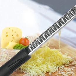 nouveau fromage râpe outils en acier inoxydable légumes zester fruit éplucheur cuisine gadgets râpe zester fromage outils râpe T2I5158