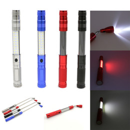 Lighting Antennas NZ - Led Lighting Light Flashlight Red White Light Subsidies Piece Work Lamp Can Flexible Bring Magnetism Pick Up Organ Antenna Lamp