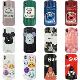 Discount hot cell phone cases - For Iphone Xs Max X Xr Phone Case Fashion Brand Variety Hot Sale For Apple 7 8 Plus TPU Cell Phone Cases