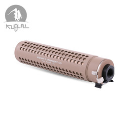 Wholesale kublai KAC PDW QD 14mm negative thread Muzzle Brake with QD Flash Hider kit for M4 AR15 556 toys Mold