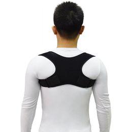 Upper Back Posture Corrector Posture Support Corrector Back Straight Shoulders Brace Strap Correct Tools 50pcs RRA959 on Sale