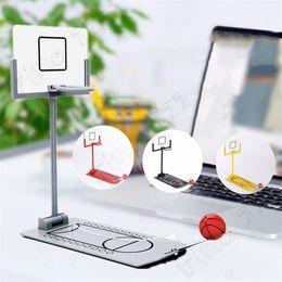 Shooting SportS wholeSale online shopping - Hottest Mini desktop folding basketball machine decompression shooting machine creative desktop micro decompression toys kids toys