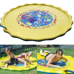 $enCountryForm.capitalKeyWord NZ - 170cm Summer Kids Outdoor Play Water Games Beach Mat Lawn Inflatable Sprinkler Cushion Toys Cushion Gift Fun For Kids Baby