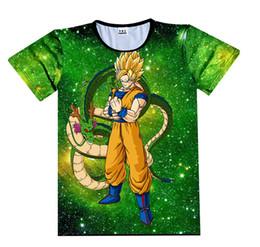 aa517235a Dragon Ball Z T-shirt 3D Men Summer T shirts Super Saiyan Son Goku God  Black Zamasu Vegeta Trunks Shenron Gohan Luffy Top Tees