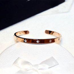 Designer Jewelry China NZ - S103 Famous Luxury Brand Designer Jewellery Open Brazaletes Pulseras Pulseiras Para Mulher Jewelry Bracelets & Bangles For Women C19010401