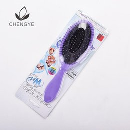 Wholesale Hair cushion comb large board dry wet dual purpose curling anti knot comb anti static massage air bag comb
