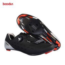 Bike Fiber Australia - Ultralight Self-locking Cycling Shoes Road Bike Bicycle MTB Shoes Reflective Cycle Sneaker Zapatos Ciclismo Carbon Fiber