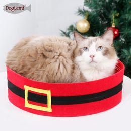 $enCountryForm.capitalKeyWord Australia - DogLemi Halloween Pet Supplies Bat Cat Bed Christmas Santa Pant Puppy Dog Cat House Cave