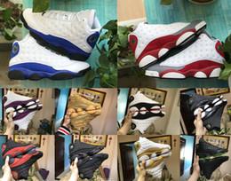 Novo Melo Classe de 2002 13s Ele Got Game designer Sapatos 13 Phantom Black Cat playoff Barons Altitude Amor Respeito Homens Tênis Esportivos