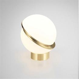 $enCountryForm.capitalKeyWord Australia - Nordic Simple Creative Circle Moon Table Lamp Modern Globe Acrylic Bed Light   Coffee Shop Light Free Shipping