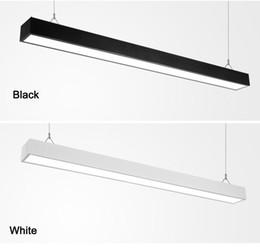 $enCountryForm.capitalKeyWord Australia - Hot Selling led flat square linear bay light led linear bar indoor office split joint LED tube light AC110-240V