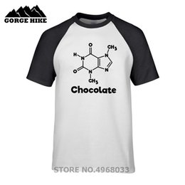 1bf2271b Personalized Tshirt Digital Printing High Quality Streetwear T-shirt  Chocolate Molecule Chemistry Science Unisex Couples T shirt