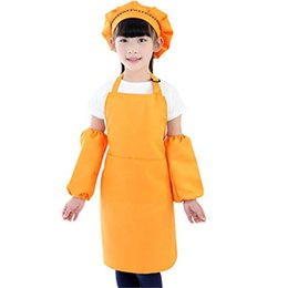 $enCountryForm.capitalKeyWord Australia - Kids Chef Set Cooking Play Set with Chef Hat and Apron for Girls Kitchen Cooking Baking Tools for Painting Baking
