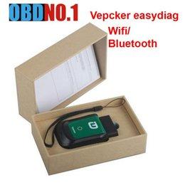 V8.3 VPECKER Outil de diagnostic complet OBDII Easydiag WINDOWS 10 sans fil avec fonction spéciale Lire les DTC de lecture / écriture de VPECKER VIN en Solde