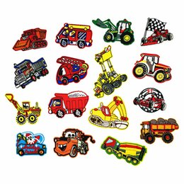 $enCountryForm.capitalKeyWord Australia - PGY Iron On Rock Motorcycle Patches For Clothes Embroidery Applique Cartoon Car Bike Patch Jeans Iron Sticker For Kids Badges