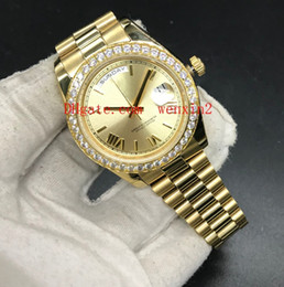 Luxury Watch Gold Plated NZ - 1Color Luxury Diamond Watches 41mm 2813 Automatic Top Stainless Steel Designers Fashionable Golden Watch Plates Gold Bracelets Lovers Gift