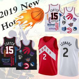 Sup Joint style 15 Carter 2 Leonard jerseys 2019 new hot sale High-quality  cheap sell men Basketball jerseys 1c0239b69