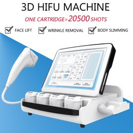 Slimming for neck online shopping - HIFU beauty machine ultrasound face lift D Hifu Machine cartridges for Face Neck Body Slimming