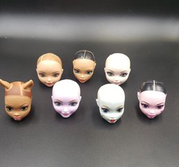 $enCountryForm.capitalKeyWord Australia - Perfect the original monster doll accessories, Very good quality of DIY makeup BJD doll head Girls play toys