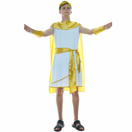 greek costumes Australia - Men's Greek God Roman Costume Grecian Prince Cosplay Carnival Halloween Birthday Party Cosplay Greek Costumes
