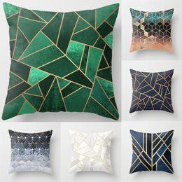 Car style pattern online shopping - Geometric Pillowcase Cushion Soft Printed Throw Pillow Case Irregular Pattern Cushion Cover Home Car Sofa Decoration Style WX9