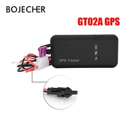 mini tracked vehicle Australia - GT02A mini GPS tracker Quad band GPS GSM GPRS Tracking Global Real Time Anti-thief For Car Vehicle Motorcycle via free shipping