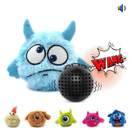 Chinese  Automatic Vibration Pet Electric Toy Dog Puppy Pet Supply Vocalization Resistant To Catch Bounce Dog Plaything Plush Ball LLA329 manufacturers