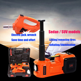 Venta al por mayor de 2019Sedan / SUV ModelsAutomotive Electric Hydraulic Jack Llave eléctrica, bomba de aire, iluminación. Herramienta de emergencia de coche