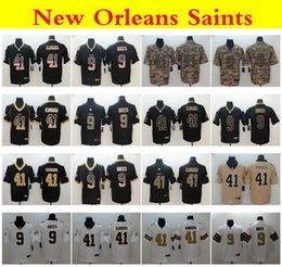 Jerseys service online shopping - 2019 New Orleans Saints nfl Camo Salute to Service Vapor Untouchable Rush Orleans Drew Brees Alvin Kamara Football Jerseys