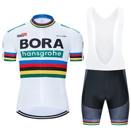 bora jersey 2020 - 2020 Pro Team BORA Cycling Jersey 9D Bib Set Bicycle Clothing Ropa Ciclismo Bike Wear Clothes Mens Short Maillot Culotte