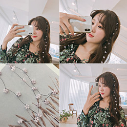$enCountryForm.capitalKeyWord Australia - Korean Web Celebrity Clip Headdress Forest is Beautiful of Flower Fairy Invisible Hair Comb Hair Adornment Streamline Hairpin Antique Hairdr