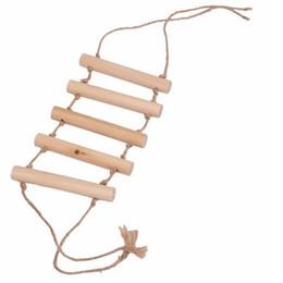 $enCountryForm.capitalKeyWord UK - Parrot supplies climbing ladder ladder swing bite toy bird cage stand stand bar pet supplies toys