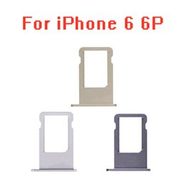 Sim Parts NZ - Micro Nano SIM Card Holder Tray Slot Replacement Part for iphone 6 6plus 6 plus SIM Card Holder Adapter Socket