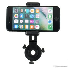 cell phone microscope 2019 - Universal Cell Phone Adapter Holder Telescope Mount Microscope Interface Bracket discount cell phone microscope
